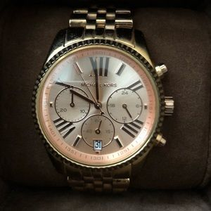 Michael Kors Lexington Rose Gold Watch
